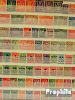 Deutsches Reich 100 verschiedene Marken