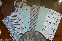 CARD KITS - Mixed Designs + Contrast Ribbons Single Sided - 2 Style Choice