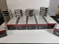 Huge Lot of 90  Mini DV Tapes Sony Premium 60 lp-90  DVM60 Minutes USED