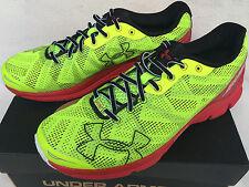 Under Armour Charged Bandit 1258783-731 High-Vis Running Marathon Shoes Men's 12