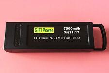 1 x 7500mAh 11.1 v 3S LiPo Battery For YUNEEC Q500 / Q500+ / Q500+PRO / Q5004K