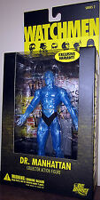 "DC Direct WATCHMEN_Translucent DR. MANHATTAN 6.75 "" Exclusive Variant figure_MIB"