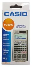 Casio FC 200V Financial Calculator FC200V FC100V, New, Boxed, Free Shipping