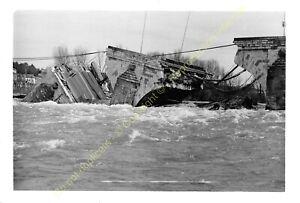 Paket 9 Fotos Zusammenbruch Brücke Wilson à Tours Der 9 April 1978