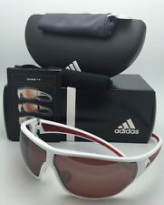 17c44e5a32 Polarized ADIDAS Sunglasses TYCANE PRO L A189 00 6052 White   Red Frames w   LST