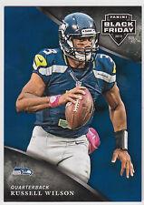RUSSELL WILSON 2013 Panini Black Friday Card #21 Seahawks