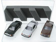 3x Mercedes-Benz - Cursor 1182, NZG 282, Conrad 1504  SEC 300 CE 190 - 1:35 W201