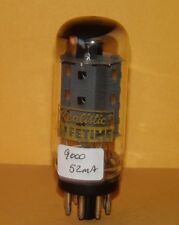 Realistic Lifetime 7591 Vacuum Tube  Coin Base Results =  9000 µmhos  ~ 52mA
