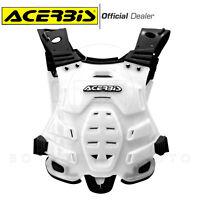 ACERBIS PROFILE PETTORINA BIANCA TG. ADULTO 160/185cm MOTO-CROSS ENDURO OFFROAD