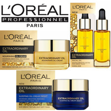 LOREAL EXTRAORDINARY FACIAL OIL-Nutri-Gold Light Oil Cream - Sleeping Oil-Cream