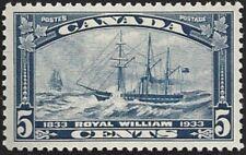 Canada  # 204   ROYAL WILLIAM     New Pristine 1933  Original Gum           .005