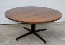 """Edward Wormley for Dunbar rosewood dining or conference table 60"""" round top"""