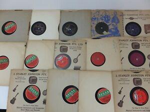 Bulk Lot of 14 x Vintage 78rpm Records