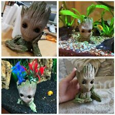 3 style Groot Action Figure Fish tank Ornament Home Garden Aquarium Decoration