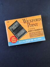 Armed Services Edition of WIckford Point by John Marquand