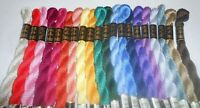 DMC Perle 3 Cotton 5g Skein Pack of 20 Assorted - Colours may vary