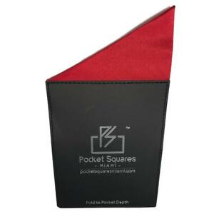 Mens Prefolded Pocket Square South Beach Collection For Wedding Parties