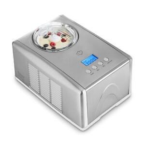 Springlane Eismaschine 1,5 L Emma selbstkühlend Eiscreme Frozen Eis 150 Watt Jt