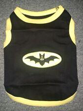Parisian Pet Dog Embroidered Batdog T Shirt 100% Cotton Bat Dog Sale