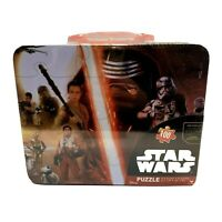 Star Wars Lunchbox Puzzle New & Sealed 100 Piece Puzzle Disney The Force Awakens