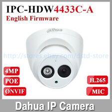 Dahua IPC-HDW4433C-A 4MP Poe Redes Cámara Integrado Mic Mini Ip CCTV 3.6mm