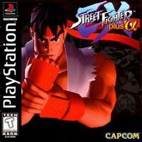 PS1 / Playstation 1 - Street Fighter Ex Plus Alpha US mit OVP sehr guter Zustand
