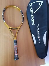 New old stock Head instinct flexpoint mp  ,4 3/8 ,L3,tennis racquet + bag