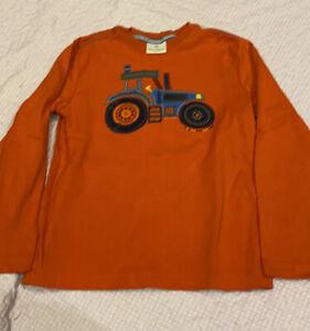hanna andersson 130 boys Tractor Top