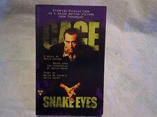 1998 Snake Eyes Movie Paperback,Nicolas Cage,david jacobs,atlantic city,boxing