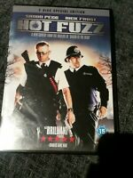 HOT FUZZ*DVD*2 DISC SPECIAL EDITION*SIMON PEGG*NICK FROST*COMEDY*ACTION*