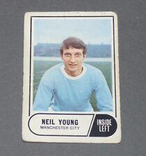 A & BC GUM CARD FOOTBALL ENGLAND 1969 NEIL YOUNG MANCHESTER CITY CITIZENS