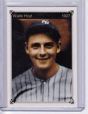 Waite Hoyt – '27 New York Yankees Murderers Row starting pitcher Miller Press