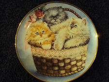 Franklin Mint Heirloom Three Little Kittens Limited Edition # F5572