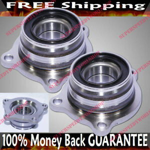 PAIR REAR  Wheel Hub Bearing fit 01-09 Toyota Sequoia SR5 Sport Utility 4D512211