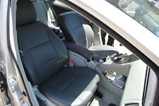 TOYOTA PRIUS 2007-2012 IGGEE S.LEATHER CUSTOM FIT SEAT COVER 13COLORS AVAILABLE