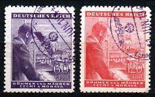 Germany / Bohmen und Mahren - 1943 Birthday Hitler Mi. 126-27 FU