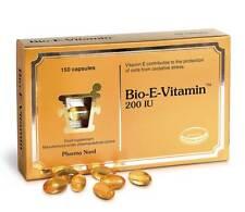 Pharma Nord Bio E Vitamin 134mg 200IU 150 caps d-alpha-tocopherol cardio