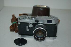 Canon-VT RARE Vintage 1956 Japanese Rangefinder Camera & Lens. 513939. UK Sale
