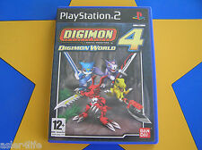 DIGIMON WORLD 4 - PLAYSTATION 2 - PS2