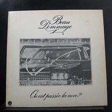 Beau Dommage - Ou Est Passee La Noce LP Mint- SKAO 70.037 Canada Vinyl Record