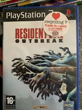 PlayStation 2 Game - Resident Evil Outbreak (Good Condition) PS2 UK PAL Free P&P