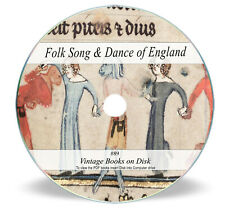 Rare Folk Music of England Books on CD - Old Traditional Ballads Song & Dance 89