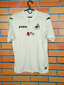 Swansea City Jersey 2016/17 Home Kids Boys XL Shirt Football Soccer Joma