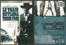DVD - LE TRAIN SIFFLERA TROIS FOIS avec GARY COOPER, GRACE KELLY / COMME NEUF