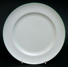 For Habitat White with Green Trim Salad Dessert Plates 20cm  - Look in VGC