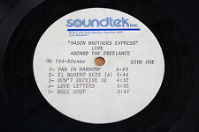 Mason Brothers Express ACETATE / Live Aboard the freelance / Funk Soul Reggae