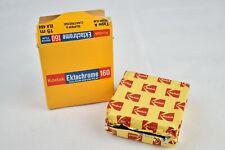 HTF Kodak Ektrachrome 160 Colour Super 8 Cine Film opened Complete in Box