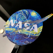 New listing Van Gogh's Starry Sky Map Nasa Sign Patch Embroidered Clothes Sew Iron on Patche