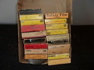 VINTAGE LOT OF 20 16MM FILMS (SEE LISTING FOR TITLES)