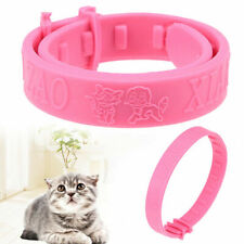 Detach Flea Pets Cat Breakaway Collar Tag Engraved Release Protection Neck Ring